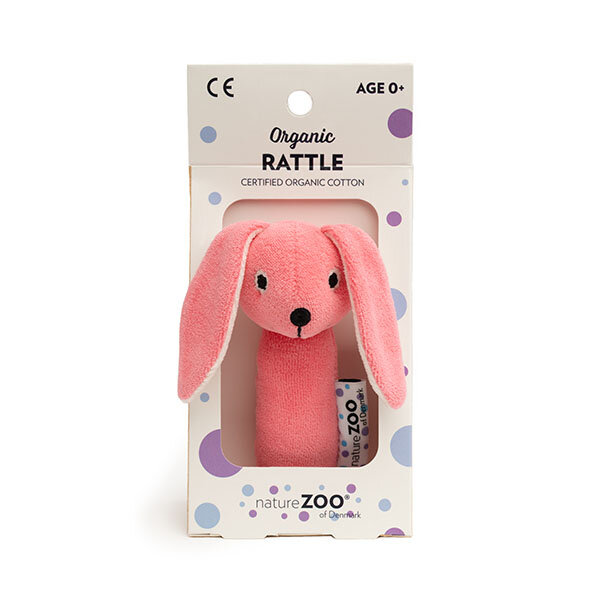 Naturezoo Velour rangle Kanin pink