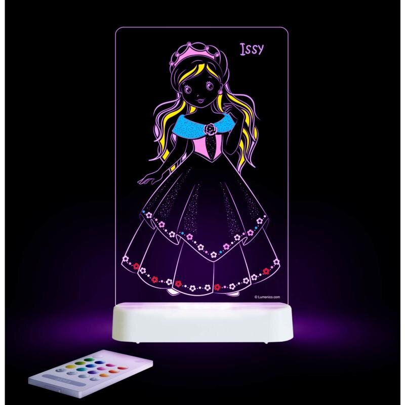 Image of Natlampe Prinsesse Color me (1421510)