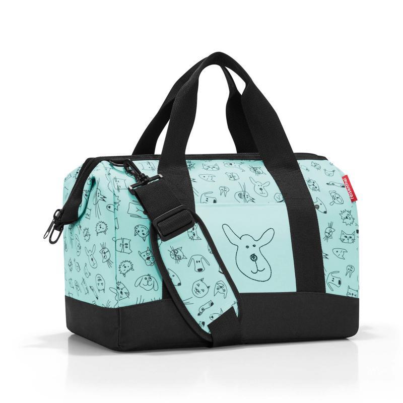 Image of Allrounder taske med katte og hunde Mint (1417636)