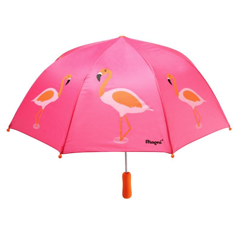 Image of Paraply, flamingo (1504468)