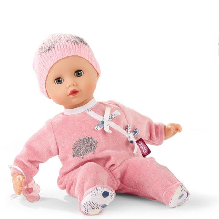 Image of Baby dukke med lyserød hue (1511333)