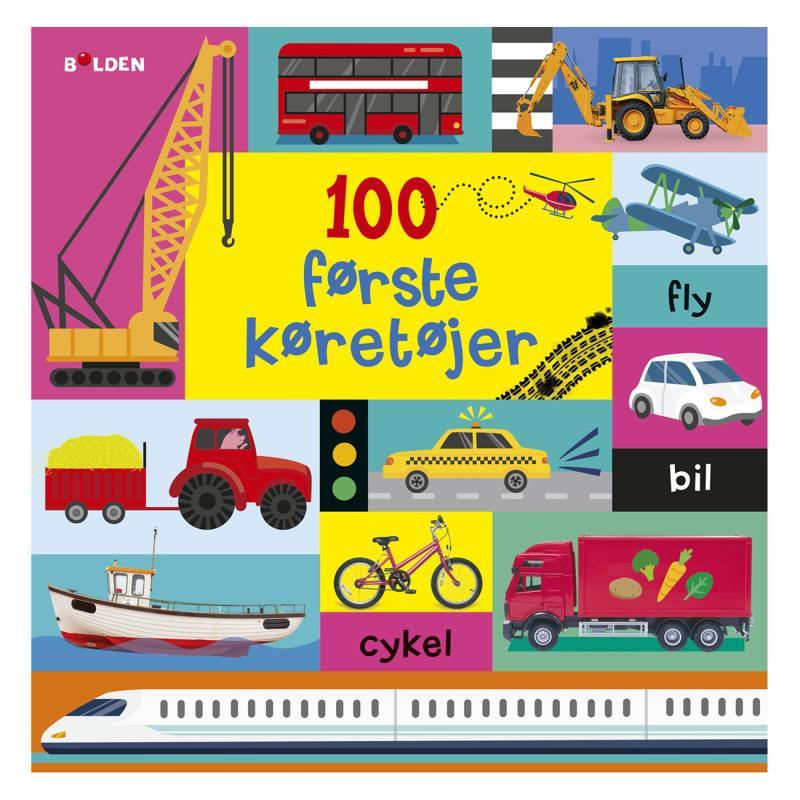 Image of 100 første køretøjer, børnebog (2050005)