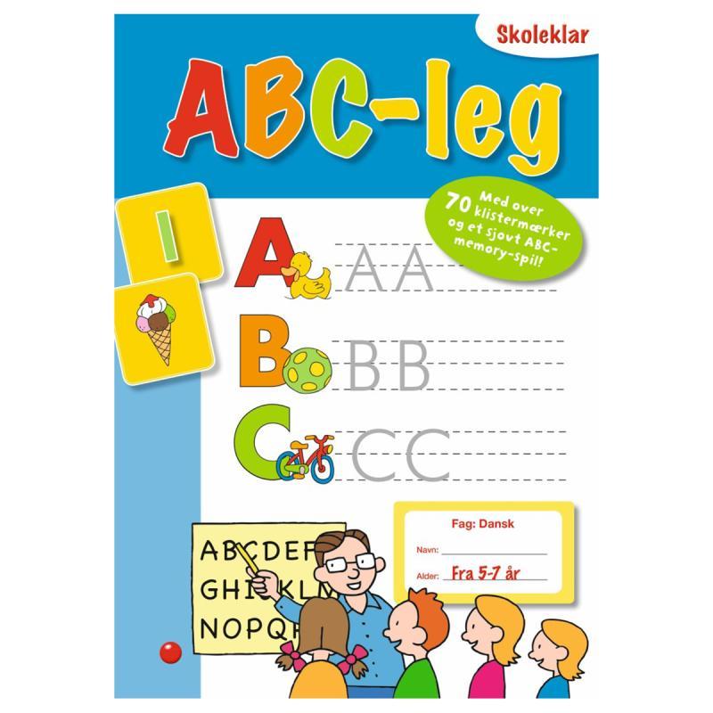 Image of ABC- leg, opgavebog (2051478)