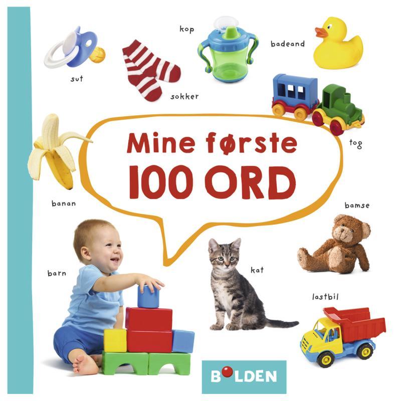 Image of Mine 100 første ord, børnebog (2081002)