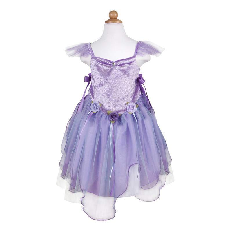 Image of Fe kjole, lilla 5-6 år (2105684)