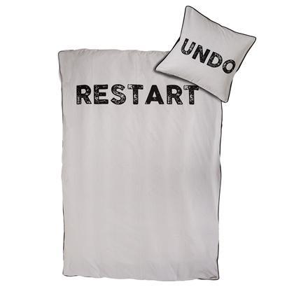 Image of Bloomingville sengetøj Voksen Restart Undo (2302173)