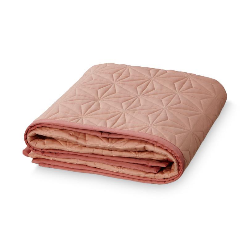 Cam Cam quiltet tæppe Blush - Baby