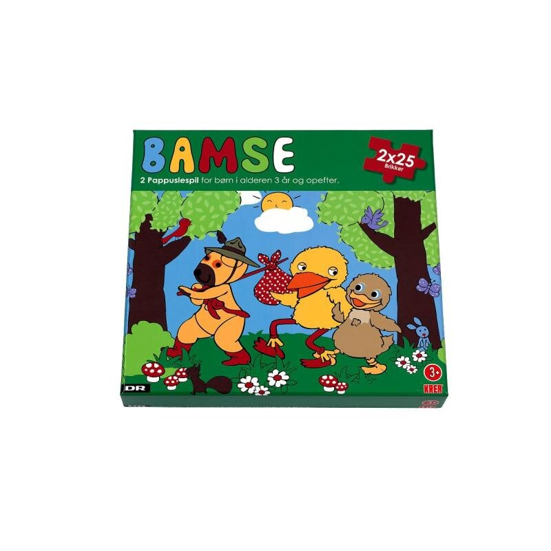 Image of Bamse og kylling, Puslespil (865692)