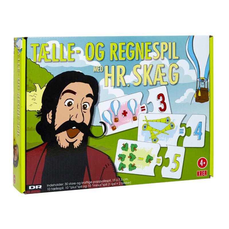 Image of Tælle og regnespil, Hr. Skæg (865622)